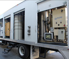 Model 2010  750 cfm Enclosed Trailer with Thermal Oxidizer.